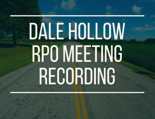Dale Hollow RPO Meeting – May 20, 2021