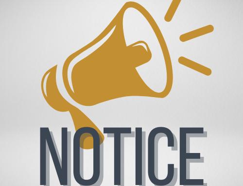 Notice of CDBG COVID-19 (CDBG-CV) Funding Amendment